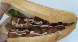 Hình ảnh món Bánh Mì Xá Xíu (sử dụng gói xá xíu)