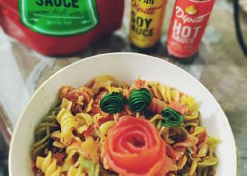 How to Cook Appetizing Spiral veg pasta