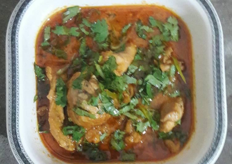 Absolutely Ultimate Dinner Easy Homemade Chicken karahi