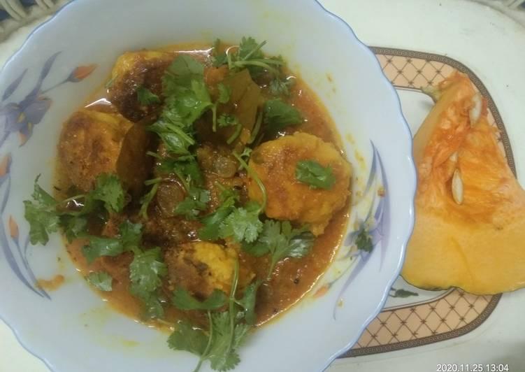 Just Do It Pumpkin Kofta Curry