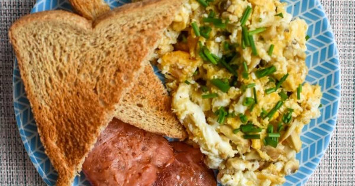 como hacer un desayuno saludable y rapido