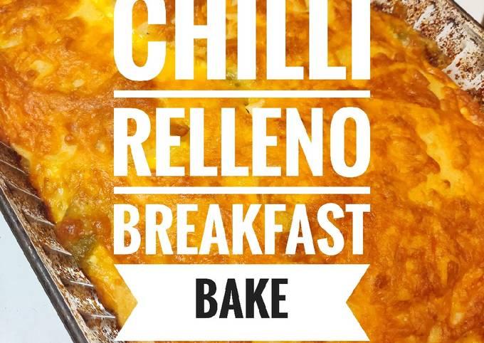 Chilli Relleno Breakfast Bake ????️
