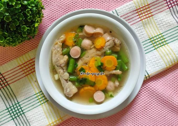 Sop Ceker Ayam