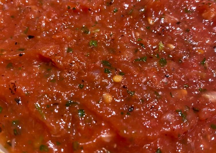 Carolina Reaper Salsa (Caution! It's Extremely HOT!! 🌶🌶🌶)