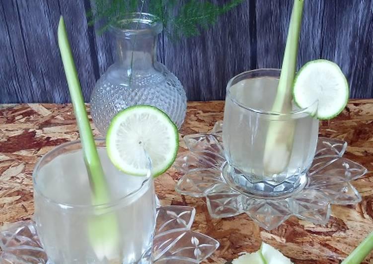 Air Serai Lemon - resepipouler.com