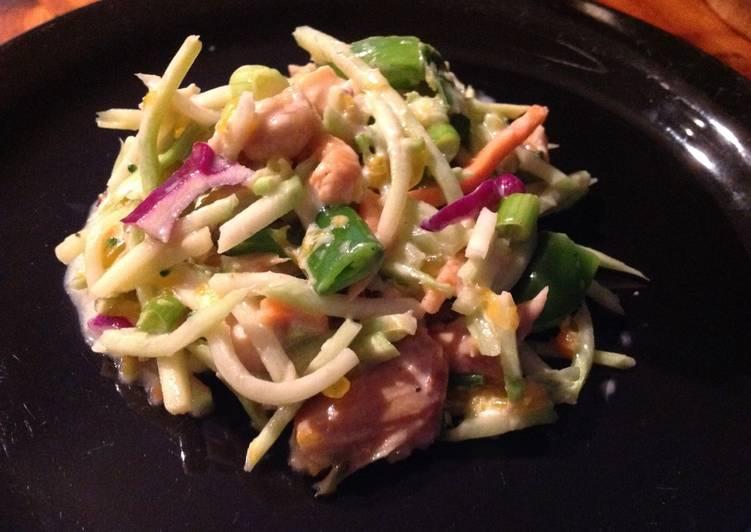 Broccoli Slaw Chicken Salad