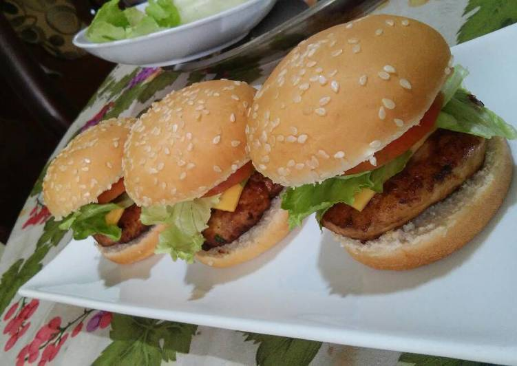 Mini Hamburguesas De Pollo Receta De Alicia Arisleyda
