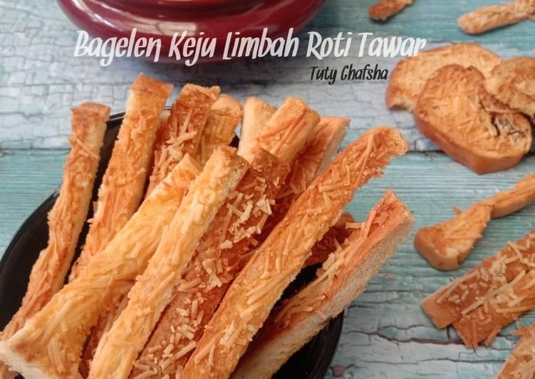 Resep Bagelen Keju Limbah Roti Tawar Paling dicari