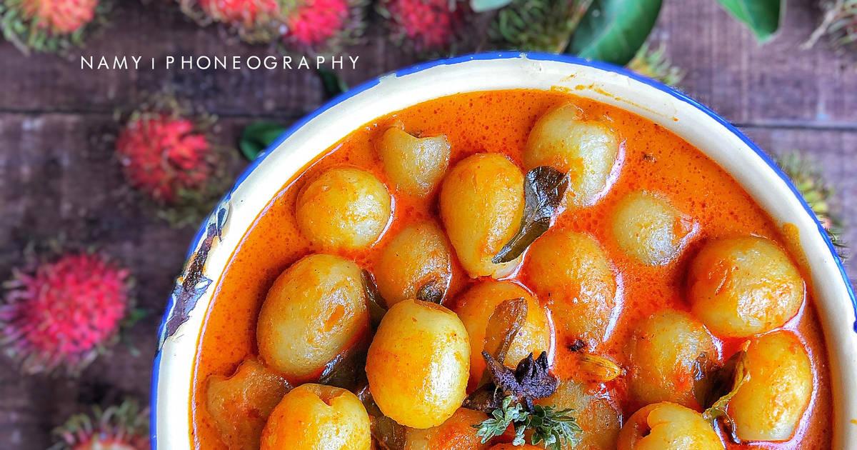 Resipi Pajeri buah Rambutan citarasa Malaysia#ChefZam oleh Nurul Akmal Mohamad Yusoff - Cookpad
