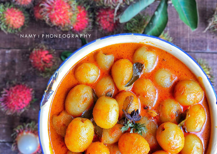 resipi pajeri buah rambutan citarasa malaysiachefzam oleh nurul akmal mohamad yusoff cookpad Resepi Nasi Minyak Masam Manis Enak dan Mudah