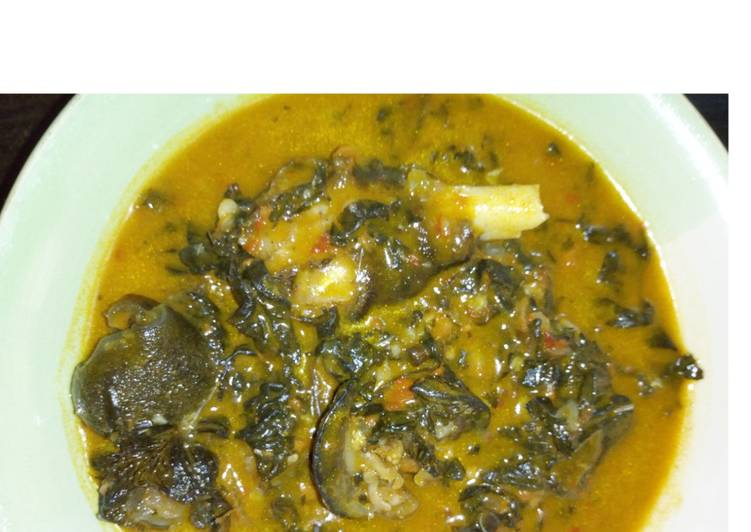 10 Minute Step-by-Step Guide to Make Refreshing Bitter leaf soup aka ofe onugbu