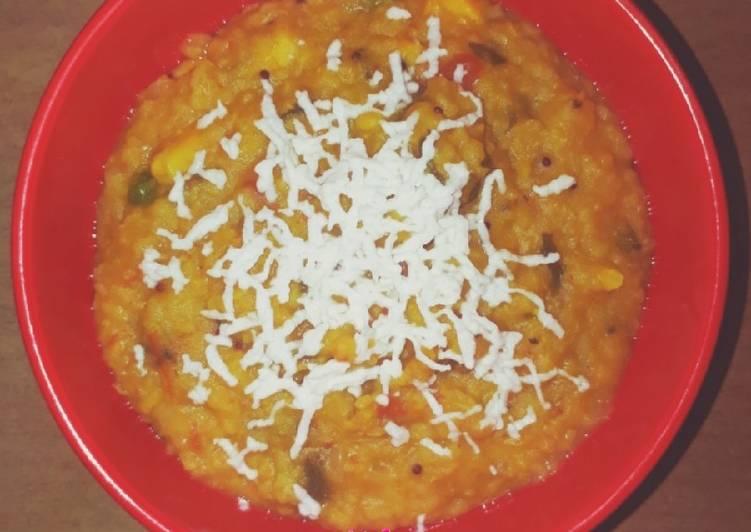 Step-by-Step Guide to Make Favorite Vegetable Dal Daliya