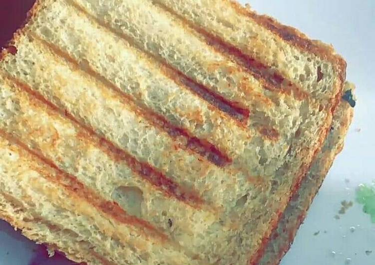 Simple Way to Prepare Simple Grill bread