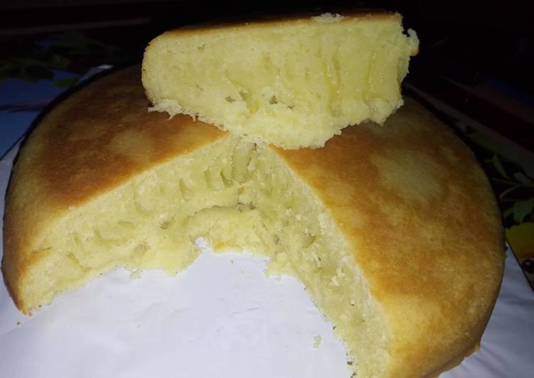 How to Prepare Perfect Hot milk sponge cake