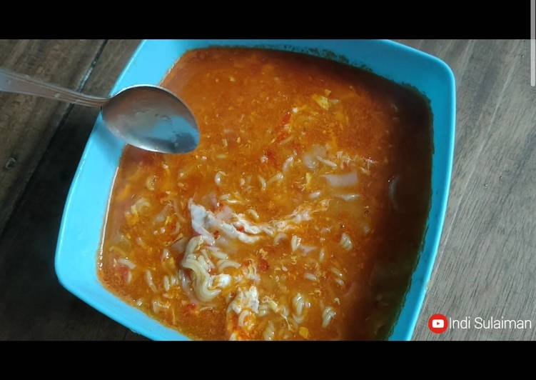 Resep Seblak Kuah Mie, Sosis & Telur yang Menggugah Selera