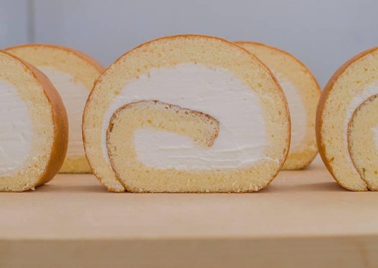 Recipe of Quick Swiss Roll (Cake Roll) ★Recipe video★