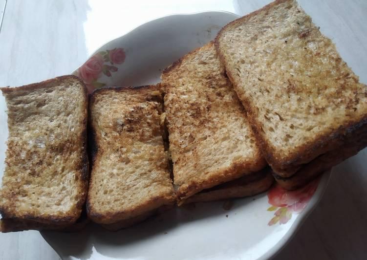 Roti gandum bakar