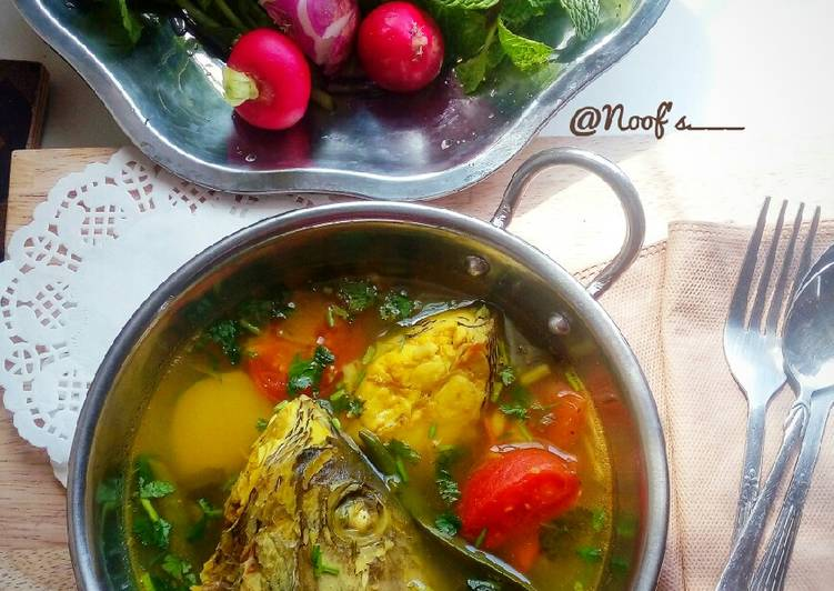Bablou | بابلوه | Arabic Sour Fish Soup (Omani Style)