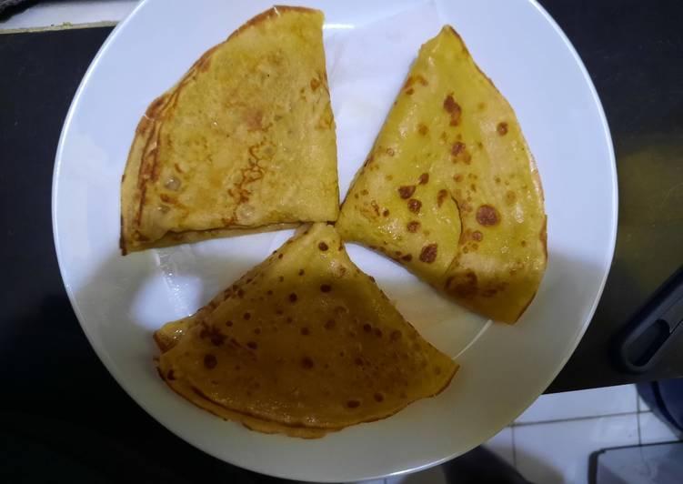 Steps to Prepare Speedy Vanilla Pancakes
