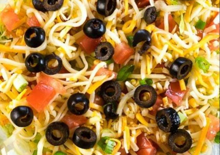 Steps to Prepare Super Quick Homemade Taco Dip