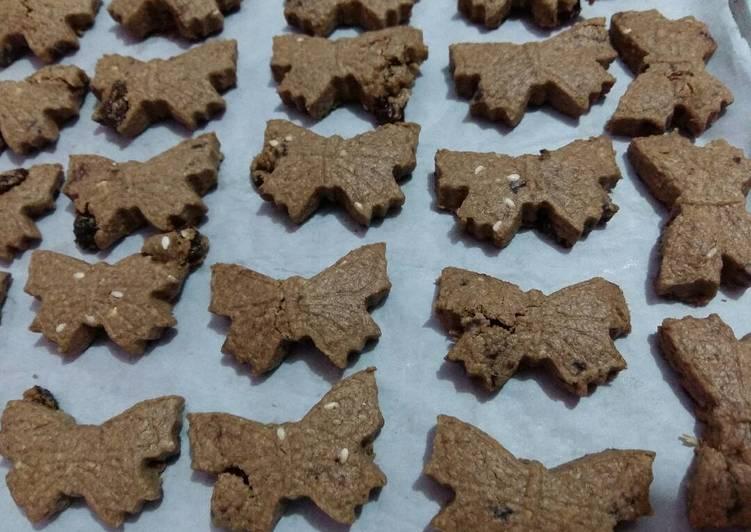 Choco oatmeal cookies #PR_Kuekering