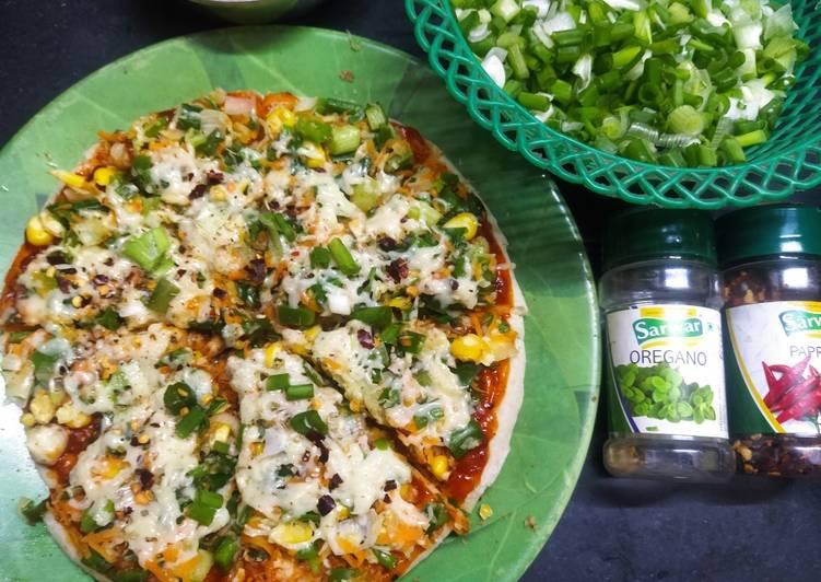 Recipe of Favorite Green onion pizza