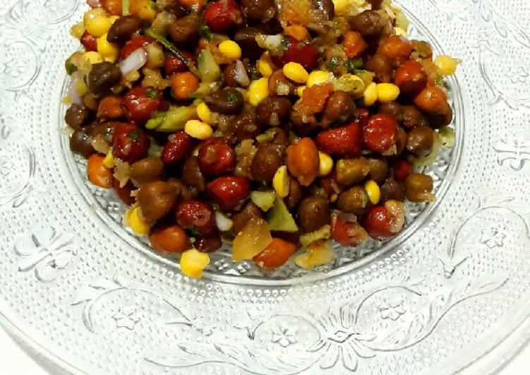 Chana Salsa Chaat