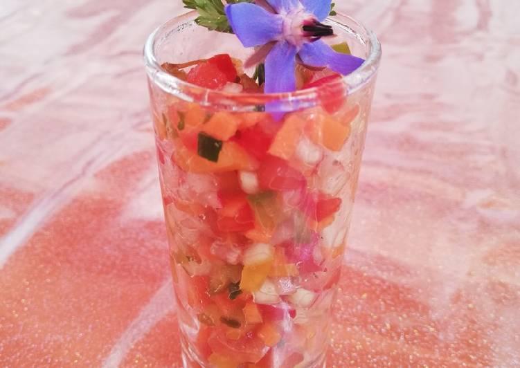 Tartare de légumes de saisons