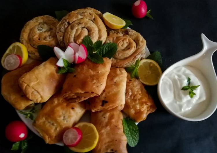 Recipe of Perfect Lebanese meat pastry /pie _meat in dough_