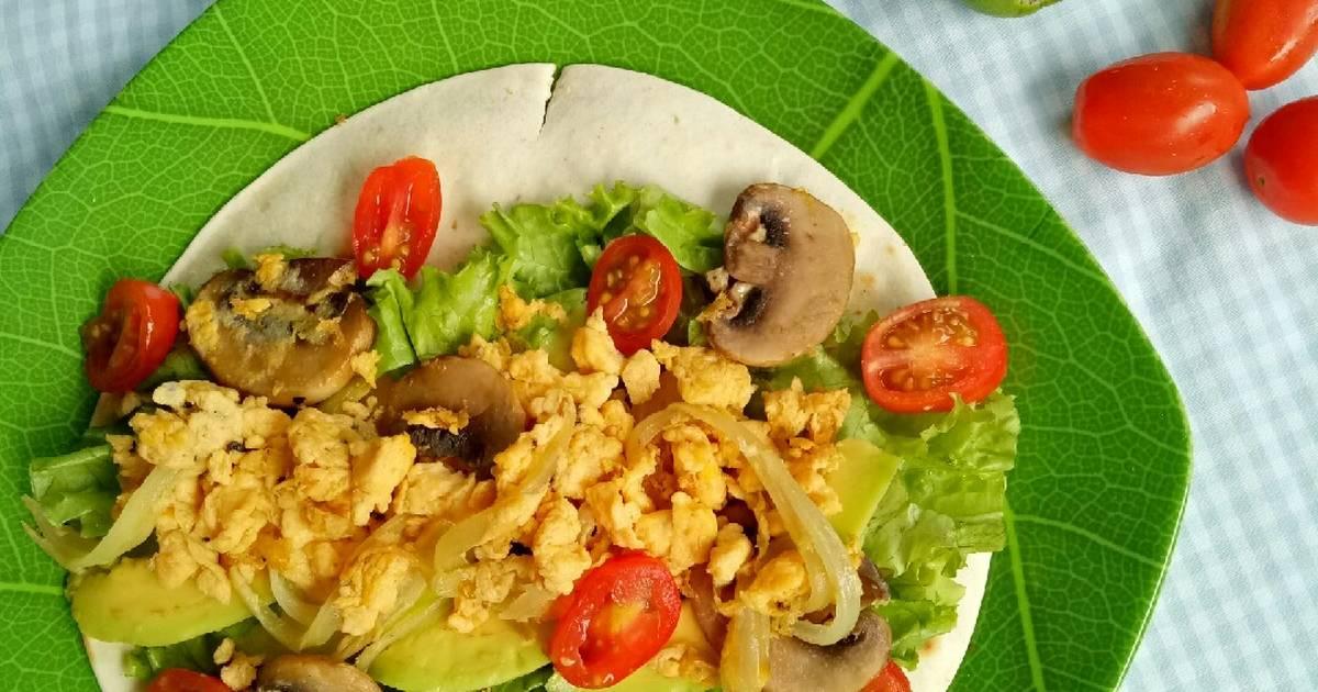 resepi tortilla wrap telur Resepi Kerepek Popia Tomyam Enak dan Mudah