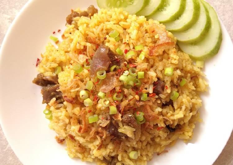 Nasi Kebuli Kambing Rice Cooker - cookandrecipe.com