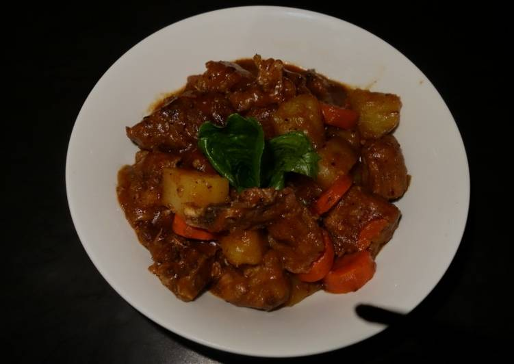 How to Make Homemade Beer beef stew