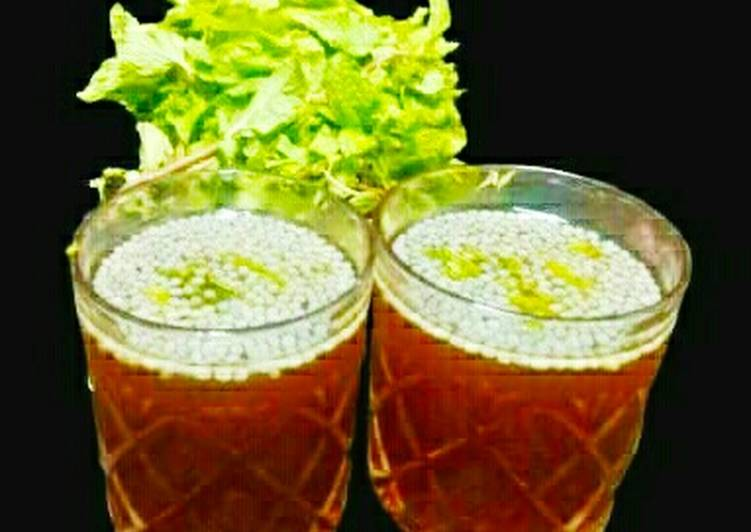 Recipe of Super Quick Homemade Jaggery sharbat