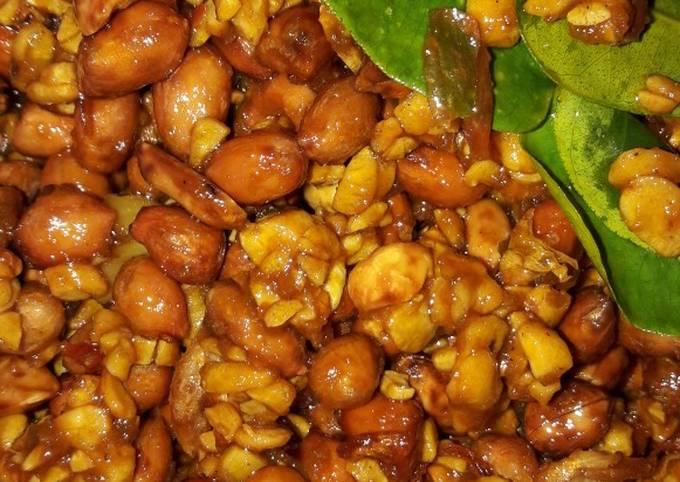 sambal goreng kering tempe kacang tanah - resepenakbgt.com