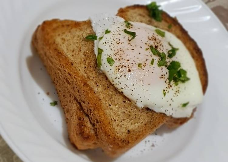 My poached egg recipe