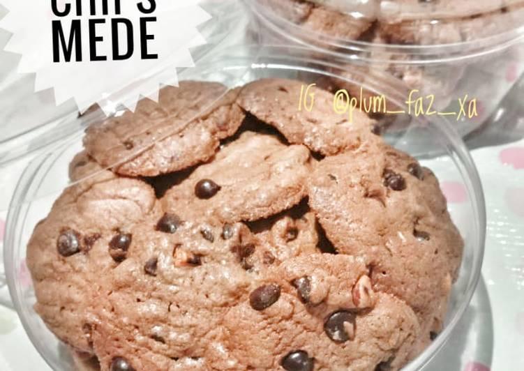 Resep Crunchy Choco Chips Mede yang Enak Banget
