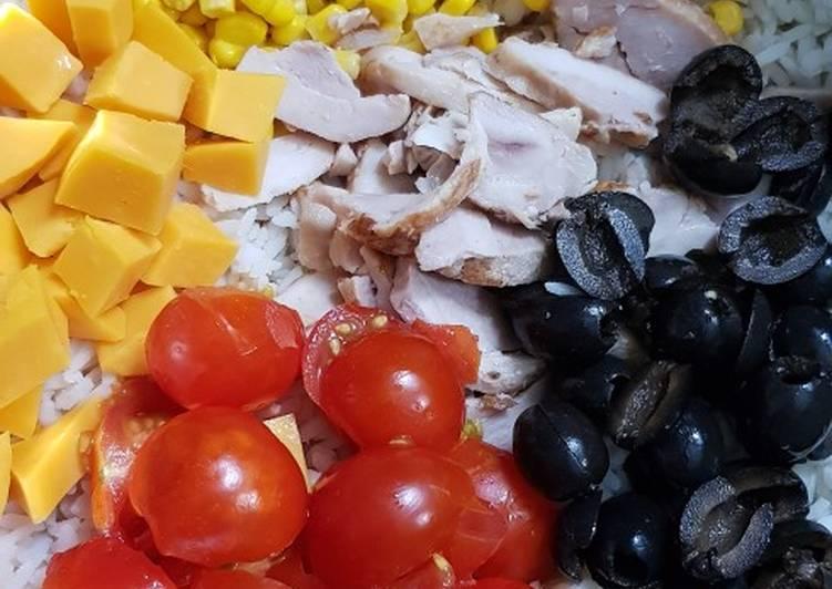 Comment Cuisiner Délicieux Salade riz