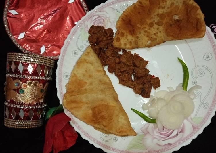 Recipe of Award-winning Beef tikka boti kabab in pateela