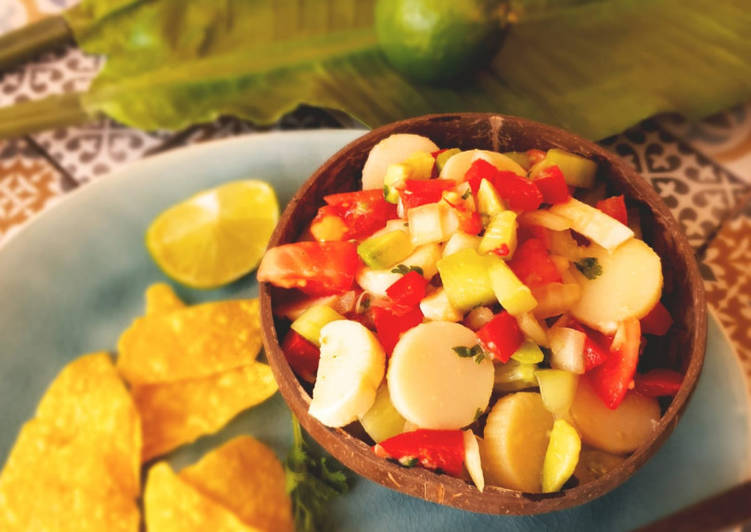 Veganes Ceviche - Peruanisches Nationalgericht