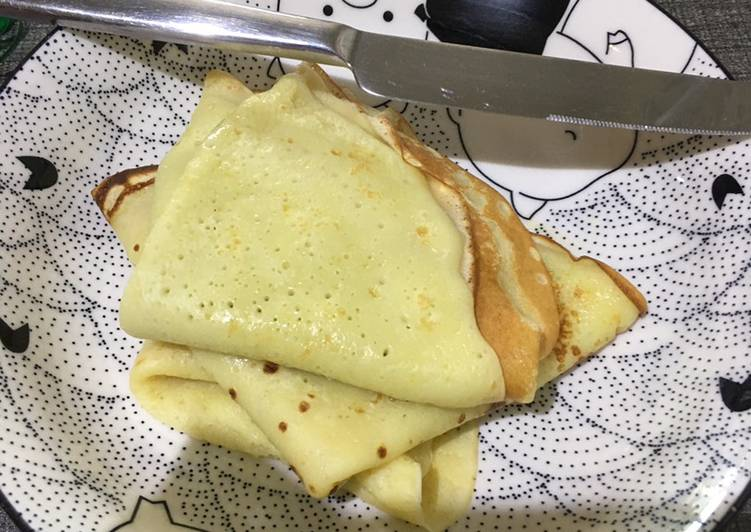 Steps to Make Ultimate Fluffy Crepes