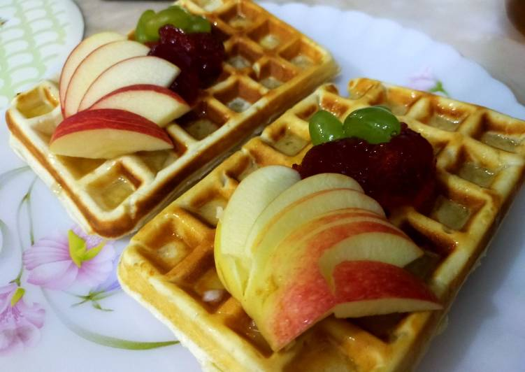 Simple Way to Make Favorite Waffles recipe /how to make perfect waffles