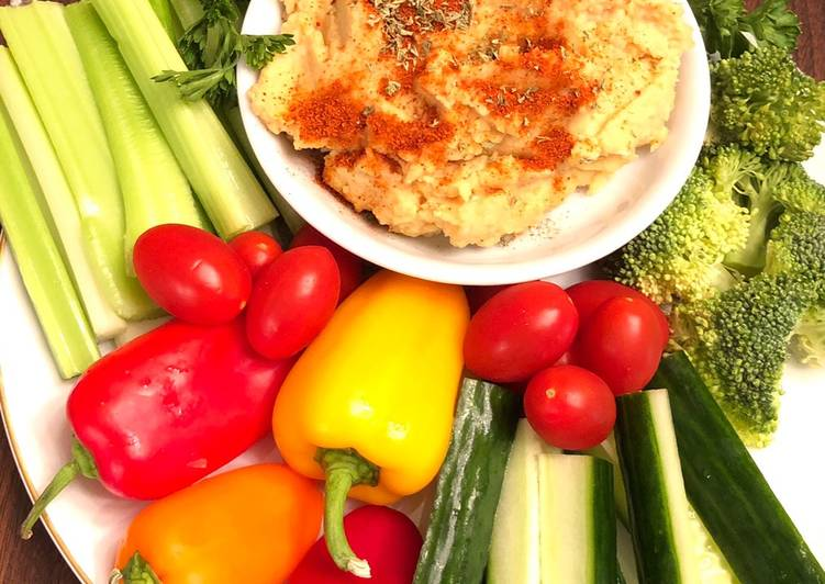Living Greener for Good Health By Consuming Superfoods Nia's homemade hummus without oil