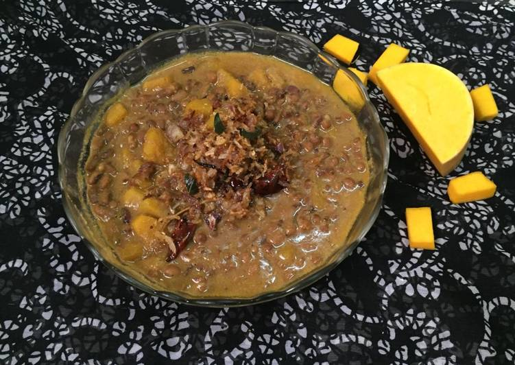 How to Make Any-night-of-the-week Erissery- Mathanga Payar Kerala Special