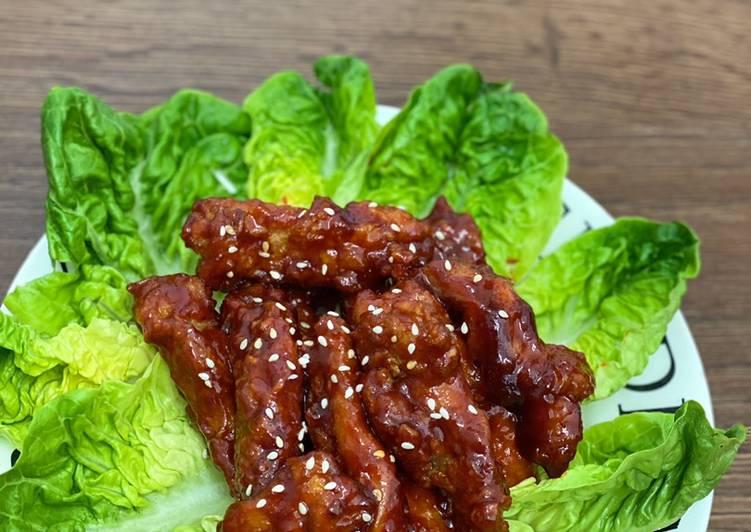 Korean Spicy Chicken