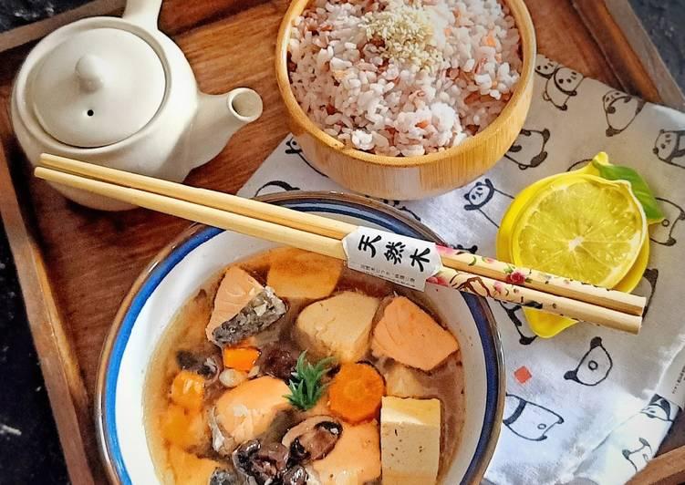Sup Salmon Miso