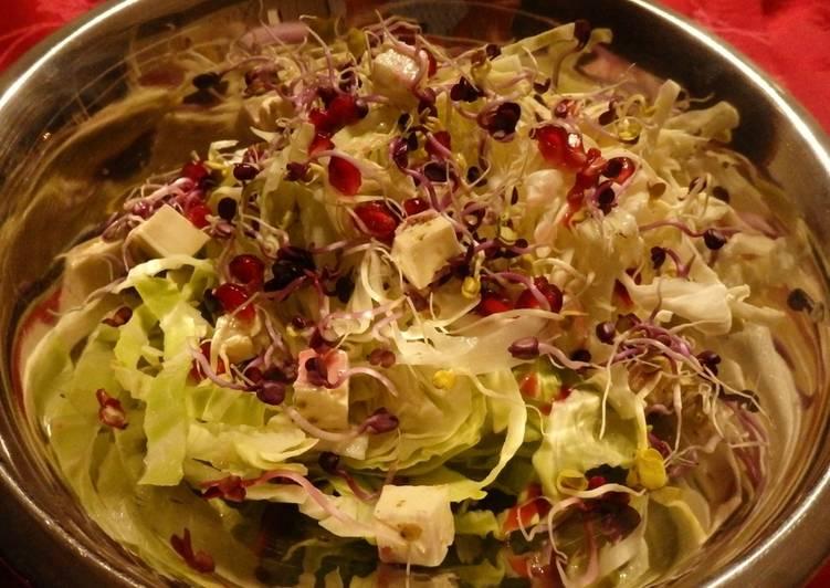 CHOUDOU aux pousses de radis roses et croquant de grenade-pistaches