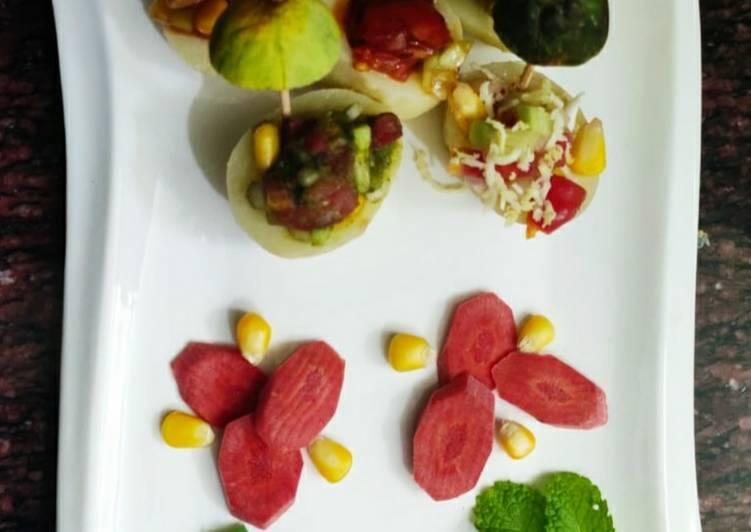 How to Cook Appetizing Potato Kulia Chaat
