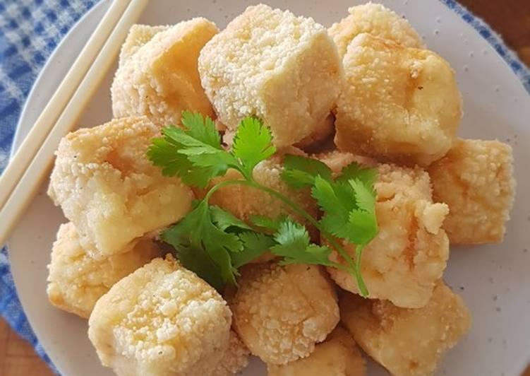 Prawn Flavoured Fried Tofu