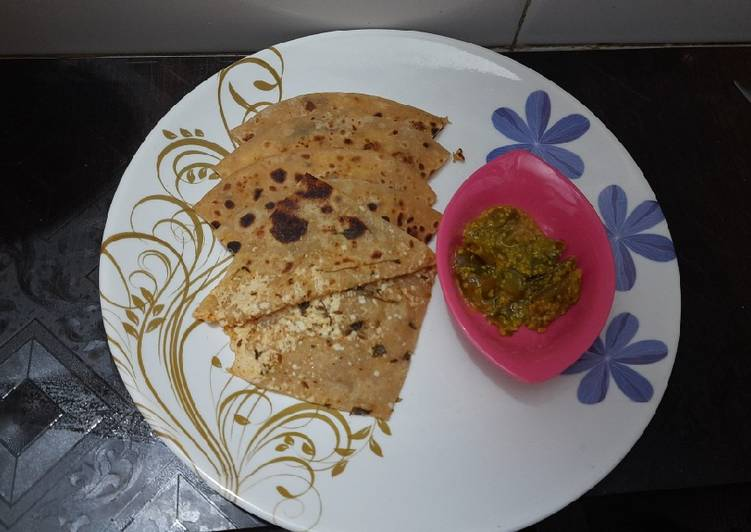 Top 100 Dinner Ideas Vegan Paneer paratha