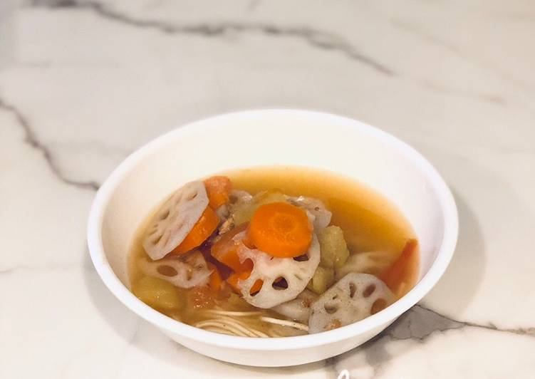 Choosing The Right Foods Can Help You Stay Fit As Well As Healthy ABC Noodles Soup